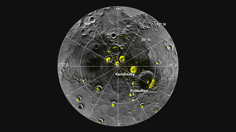 Water Ice and Organics Found at Mercury's North Pole | The Matteo Rossini Post | Scoop.it