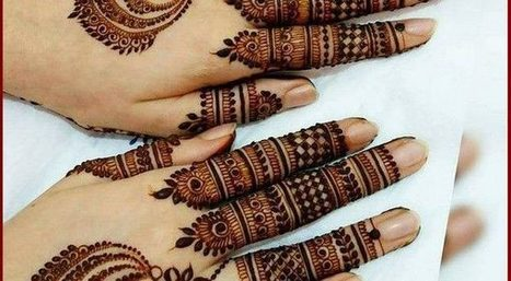 200 Latest Mehndi Design For Girls 2018 Step B