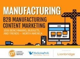 Content strategy for manufacturing drives growth | Marketing Strategy | Scoop.it