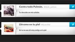 Ingeniosa campaña colombiana emplea Twitter contra el #cancer | eSalud Social Media | Scoop.it