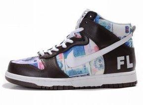 Nike Dunk High Premium FL Brown White Money Che