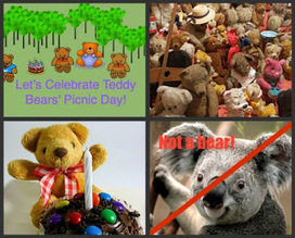The Book Chook: Let's Celebrate Teddy Bears' Picnic Day | Supporting Children's Literacy | Scoop.it