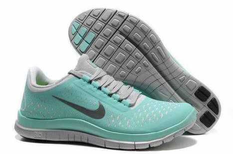 Nike Free 3.0 V4 Womens Tiffany Blue Running Shoes