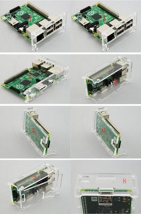 New Transparent Box Case for Raspberry Pi 2 & Model B + | Raspberry Pi | Scoop.it