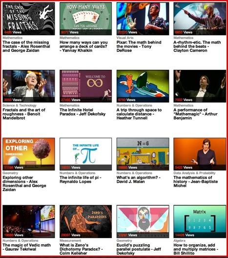 Excelente TED Ed Matemáticas Charlas para estudiantes de Tecnología Educativa y Aprendizaje Móvil ~ | Edu-Recursos 2.0 | Scoop.it