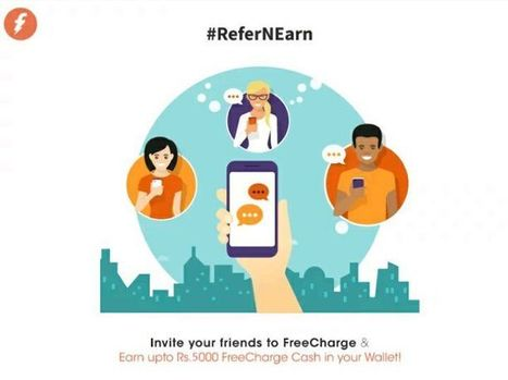 Use Freecharge Referral Code [RAUHZUE] & Get Flat Rs.50 Cashback | Coupons, deals & offers, free recharge, unlimited money tricks, loot deals etc. | Scoop.it