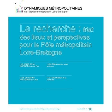 Pôle métropolitain Loire-Bretagne > La recherche : état des lieux et perspectives   Observer les Pays de la Loire   Scoop.it