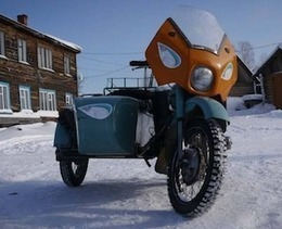 The Ice Run: 1500km Across Siberia on Ural Motorcycles (at -40C) : Discovery Channel | Cafe Racer of Ohio | Scoop.it