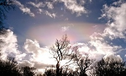 Halo in the sky, a supernatural glow | Crossing Wild Pages - fiction, nonfiction, poetry | Scoop.it