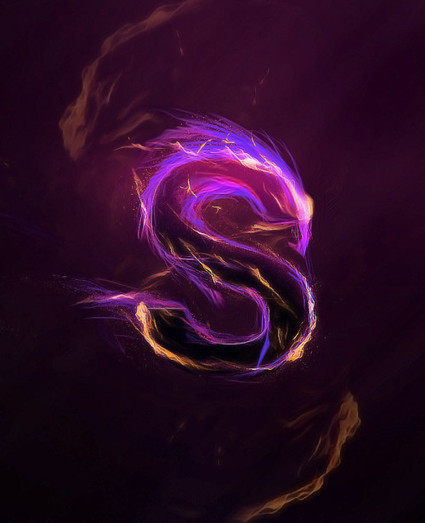Create a Magical Fire Energy Text Effect in Photoshop | The Official Photoshop Roadmap Journal | Scoop.it