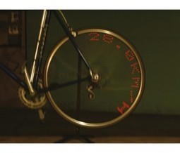 L'afficheur de messages LED pour vélo, le gadget électronique idéal pour Noël | Blog Cadeaux Folies | Cadeaux Folies | Scoop.it