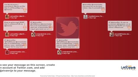 TwitterCamp at Daniel Dura | Visualisatie-tools Social Media | Scoop.it
