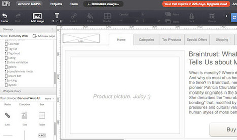 Wireframing, Prototyping, Mockuping – What's the Difference?   Learning Web Design   Scoop.it