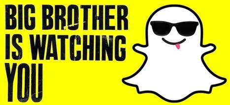 Grâce à vous, Snapchat pourrait très vite devenir Big Brother | Données personnelles - vie privée | Scoop.it