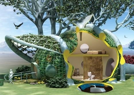 Et si vous faisiez pousser votre maison ? | Solutions pour l'habitat | Green Habitat | Scoop.it
