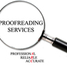 High quality proofreading services