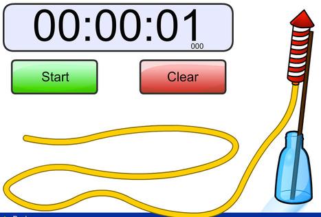 Rocket Timer - Chronomètre en ligne  Ressources pour le College of Technology à Scoop.it