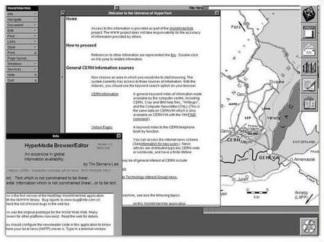 The world's first website went online 25 years ago today | Mobile learning for students and teachers | Scoop.it