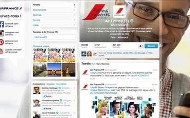 Air France accessible non-stop sur les réseaux sociaux | Le marketing digital du tourisme | Scoop.it