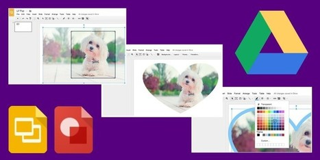Google Presentation and Drawing Apps Add Image Cropping, Masks and Borders | newmedia_edu | Scoop.it