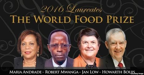 Researchers Earn World Food Prize for Combating Malnutrition   Plant Biology Teaching Resources (Higher Education)   Scoop.it