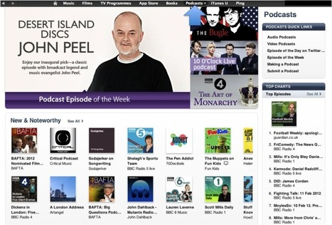 Podcasts: Independent English   Learning technologies for EFL   Scoop.it