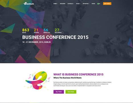 10 Temi wordpress per Eventi e Convegni | wordpressmania | Scoop.it