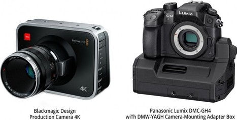 Blackmagic Production Camera 4K versus Panasonic GH4 | world of Photo and vidéo | Scoop.it