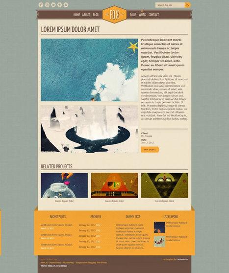 20 Free Web Layout PSDs | Recursos diseño gráfico | Scoop.it