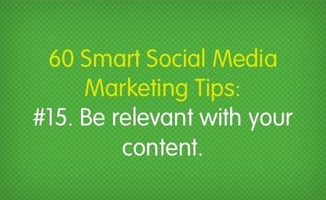 60 Smart Social Media Marketing Tips – Salesforce Marketing Cloud | Social Media Research, Research Social Media | Scoop.it