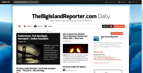 TheBigIslandReporter.com Daily   Hawaii's News @ Twitter Speed!   Scoop.it