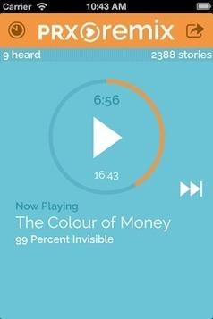 Can't stop, won't stop: PRX introduces an app for unending audio storytelling | Veille - développement radio | Scoop.it