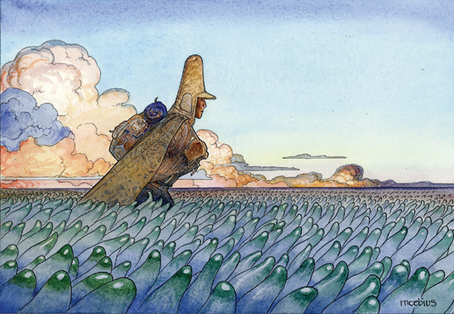 How Moebius revolutionised comic art | Illustration | Creative Bloq | Comic Books Artists | Scoop.it