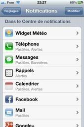 IPhone : recevoir ses notifications Facebook sans ouvrir l'appli | Geeks | Scoop.it
