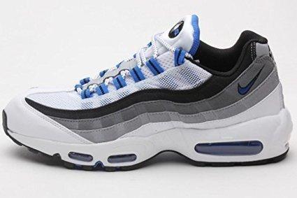 825058c77fed Nike Air Max 95 Mens Running Shoes 609048-108 White 9.5 M US