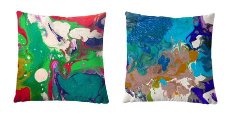 Coussins Design In Tissu D Ameublement Art Textile Et