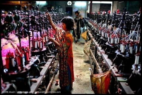 8€/mois pour du t-shirt. Il photographie le travail des enfants… | Ca m'interpelle... | Scoop.it