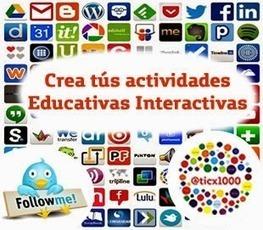 TIC y REA: 20 Herramientas para crear actividades educativas interactivas | Herramientas TIC para el aula | Scoop.it