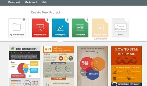 5 Great Online Tools for Creating Infographics | Visual Learning for EFL | Scoop.it