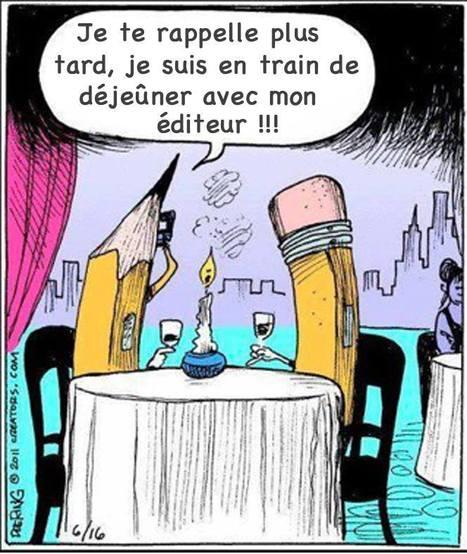 Je te rappelle... je suis avec mon #éditeur là... ;) Editions du Poutan | Emploi Métiers Presse Ecriture Design | Scoop.it