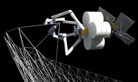 NASA wants to build huge spacecraft in orbit with robots and 3D printers   JOIN SCOOP.IT AND FOLLOW ME ON SCOOP.IT   Scoop.it