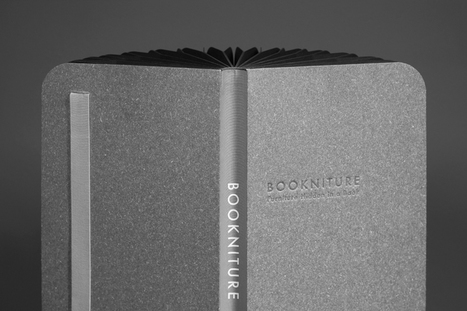 BOOKNITURE flips from book to furniture in less than a second   What's new in Design + Architecture?   Scoop.it