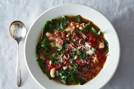 Italian-Texan White Bean Stew recipe on Food52.com | 4-Hour Body Bean Cookbook | Scoop.it