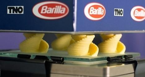 Pâtes imprimées en 3D : Barilla poursuit ses recherches ! | Digital Design and Manufacturing | Scoop.it