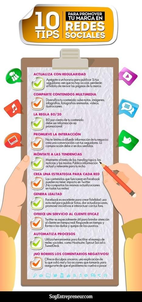 10 consejos para potenciar tu Marca en Redes Sociales | Agrobrokercommunitymanager | Scoop.it