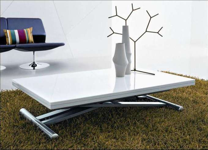 Electric Adjustable Height Coffee Table Lengn