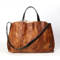 Spacious dip-dye leather shoulder tote bags for women Brown - $289.60 : Notlie handbags, Original design messenger bags and backpack etc | personalized canvas messenger bags and backpack | Scoop.it
