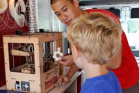 Imprimante 3D : Mode d'emploi : 3 dossiers pratiques | DIY | Maker | Scoop.it