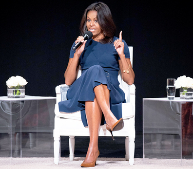 "Michelle Obama Urges Girls to Focus on Their Education, Not Dating: ""Compete ... - Us Magazine 