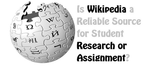 is wikipedia a reliable source Should you use wikipedia as a credible resource no wikipedia is increasingly used by people in the academic as the easiest source of.